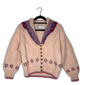 Pastel Knit Button Front Fairy Kei Cardigan